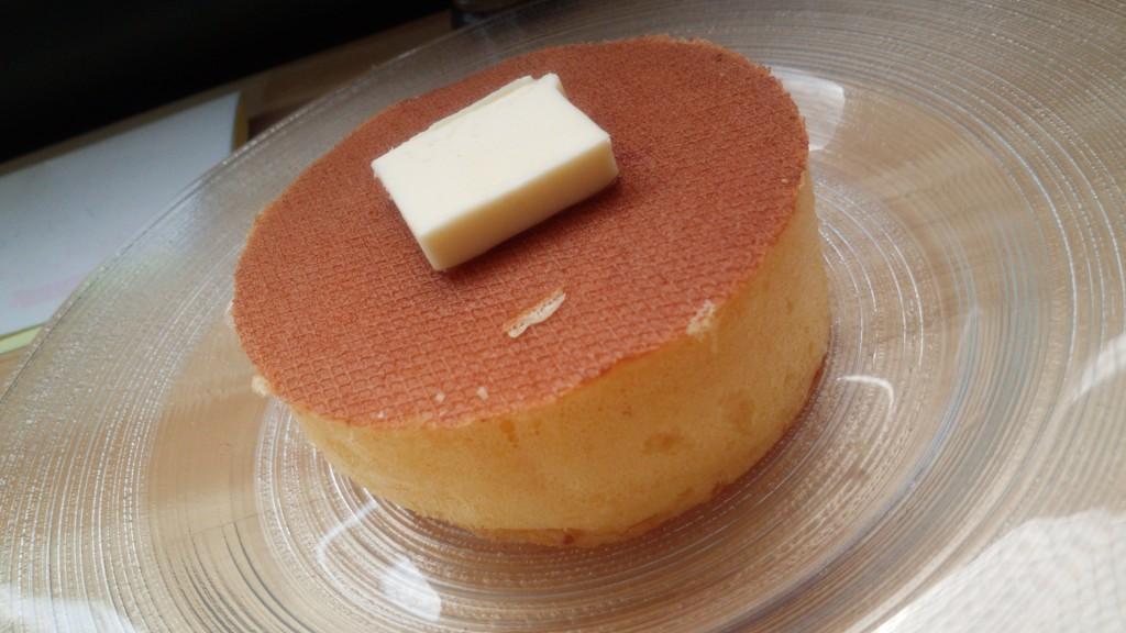 発酵バター 蜜柑蜂蜜を添えて